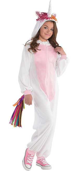 Girls Unicorn Onesie Costume