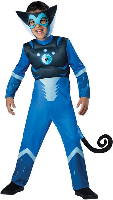 Wild Kratts Blue Monkey Costume