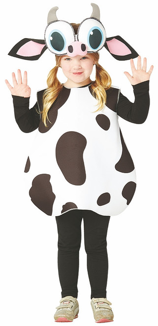 Big Eyed Cow Kids Costume