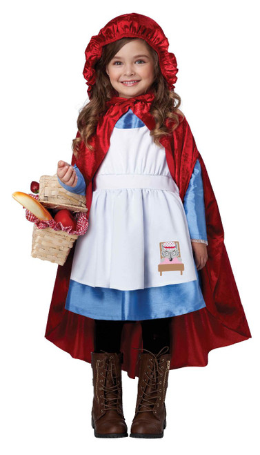 Toddler Red Riding Hood Costume