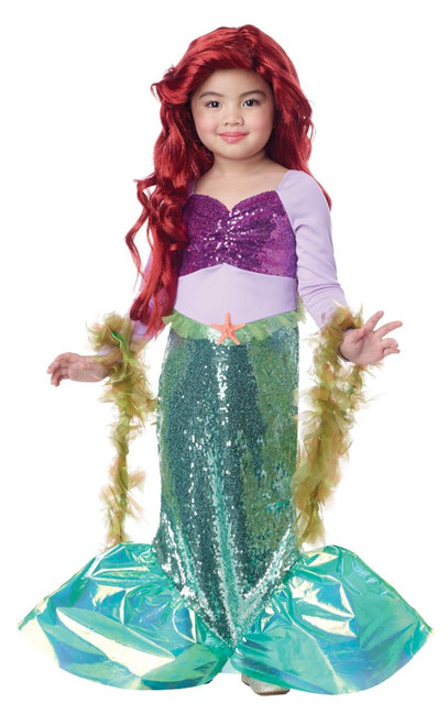Fabulous Mermaid Toddler Girls Costume
