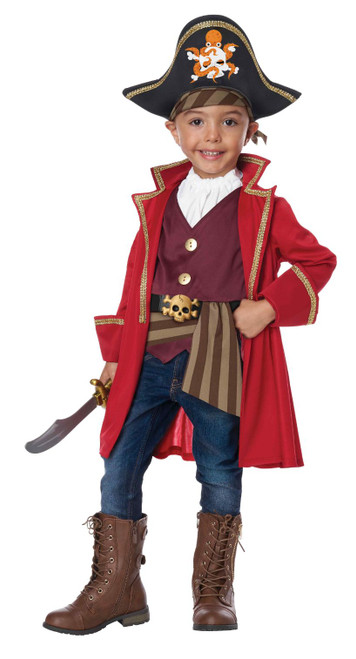 Little Pirate Toddler Boy Costume