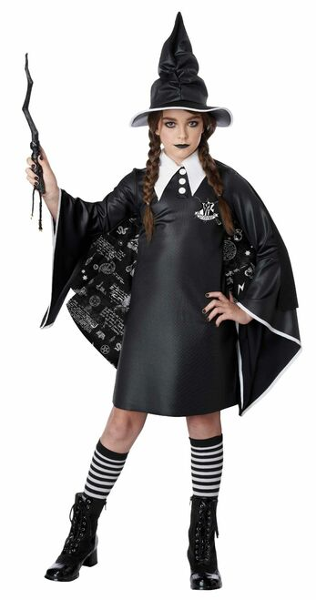 Wicked Witch In Training Girls Costume