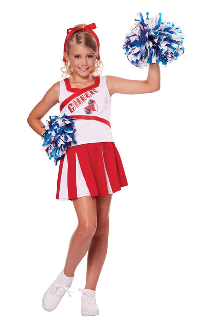 High School Cheerleader Girl Costume