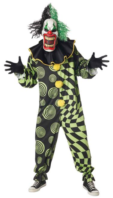 Funhouse Freak Clown Man Costume