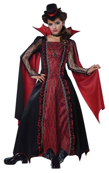 Vampira Victorian Girls Costume
