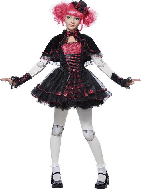 Girls Victorian Doll Costume