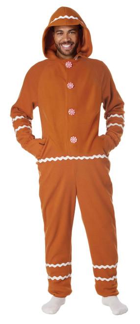 Onesie Gingerbread Costume