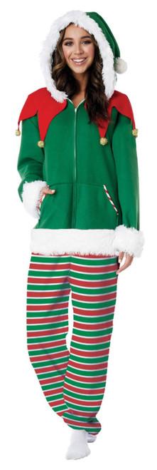 Onesie Christmas Elf Costume