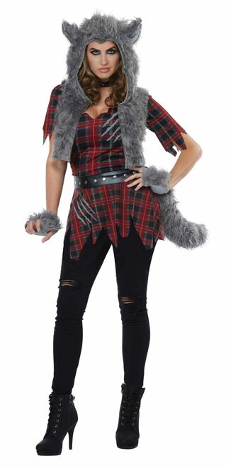 She-Wolf Werewolf Costume