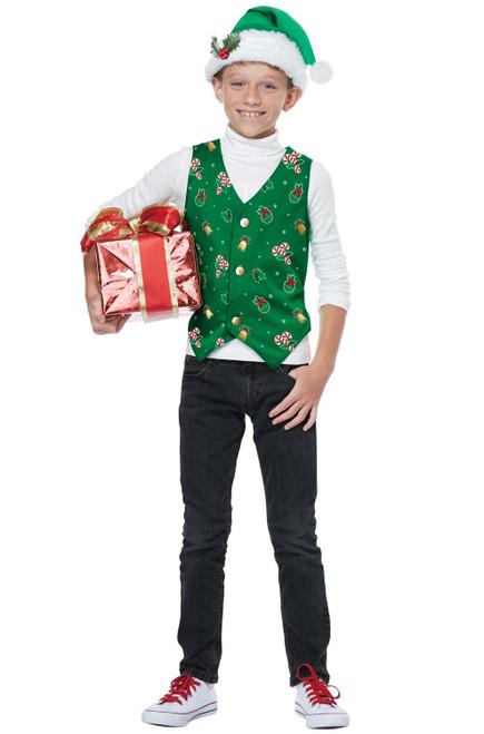 Kids Christmas Vest