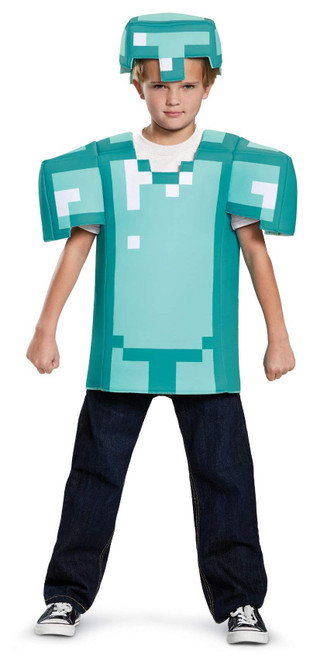 Minecraft Armor Classic Kids Costume