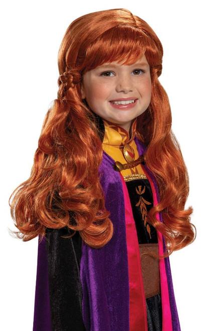 Frozen Anna Girls Wig