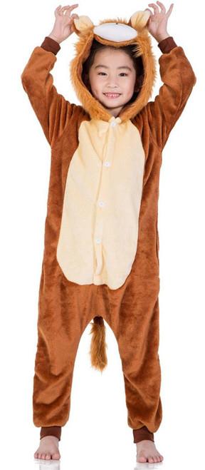 Cute Lion Kid Onesie Costume