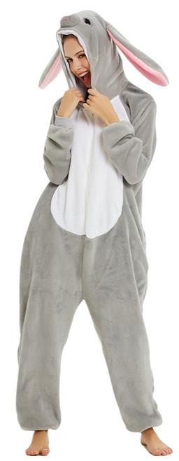 Rabbit Onesie Adult  Costume