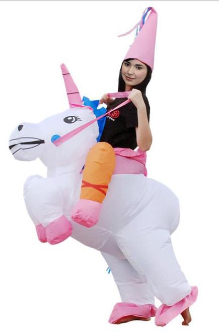 Unicorn Inflatable Adult Costume