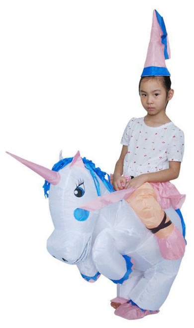 Unicorn Inflatable Kids Costume