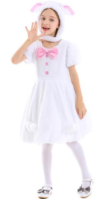 Bunny Dress Girl Costume Front