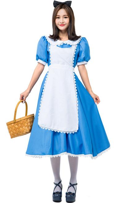 Alice in Wonderland Women Costume Front