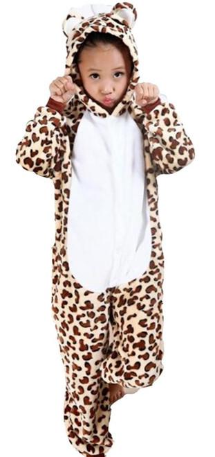 Leopard Kid Onesie Kids Costume