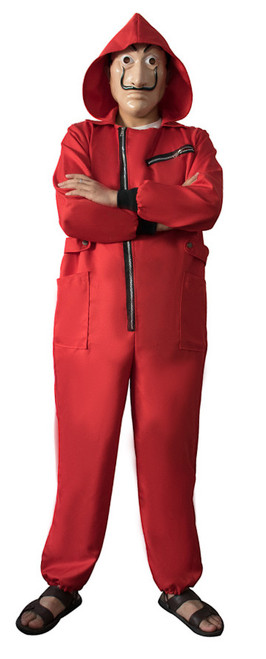 Money Heist Adult Costume with Mask