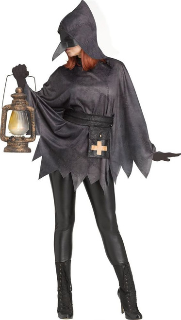Plague Doctor Womens Poncho