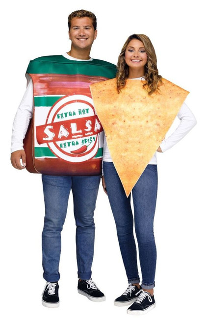 Salsa & Chips Couple  Costume image