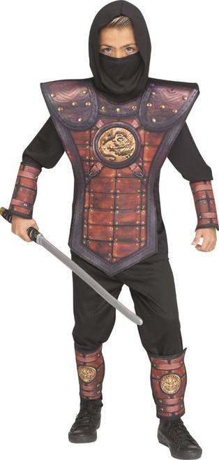 Golden Ninja Kids Costume