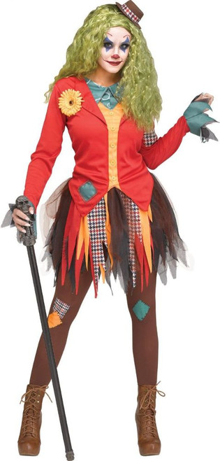 Joker Red Women Costume
