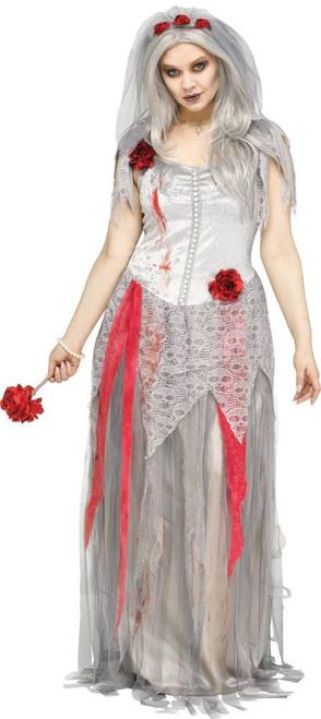 Plus Size Zombie Bride Costume