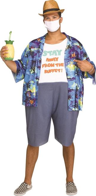 Tainted Tourist Adult Costume
