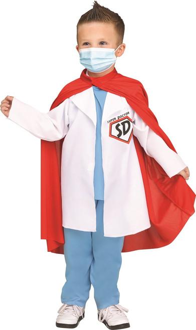 Super Doctor Kids Costume