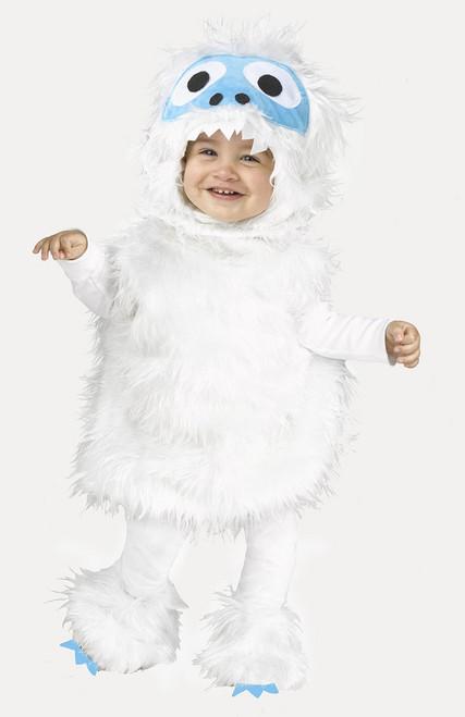 Snow Monster Toddler Kid Costume
