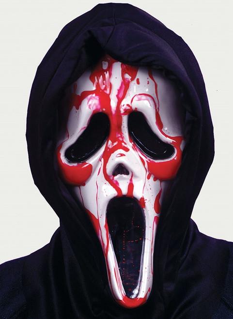 Bleeding Ghost Face Mask