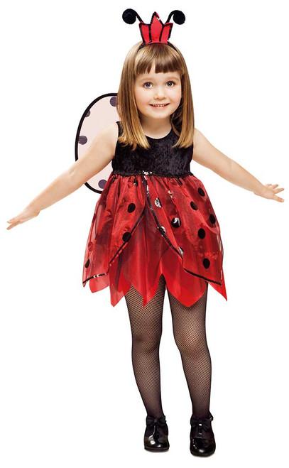 Ladybug Fairy Girls Costume