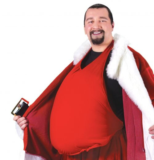 Santa Claus Belly Stuffer