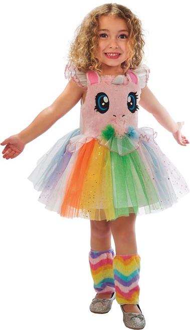 Pink Little Eyes Unicorn Girls Costume