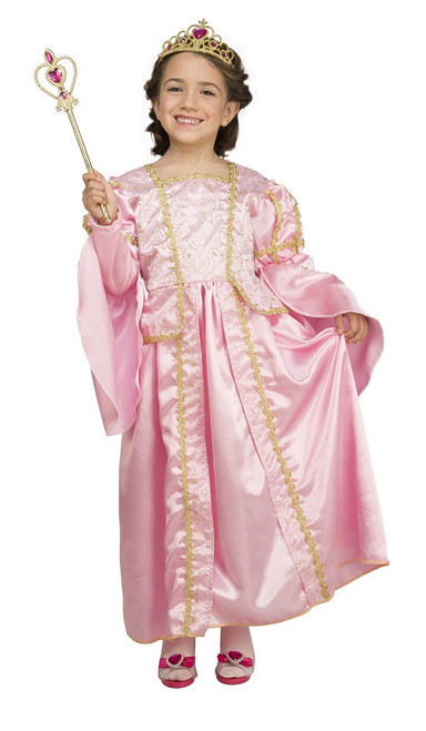 I Wanna Be A Princess Girls Costume