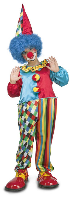 Chubby Clown Kids Costume