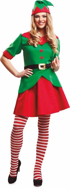 Christmas Elf Womens Costume