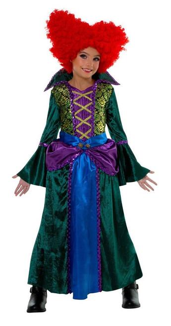 Salem Witch Boss Girls Costume