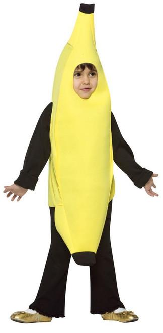 Banana Toddler Kid Costume