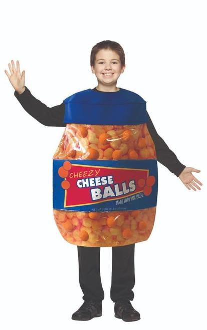 Cheese Balls Kids Costume
