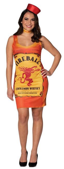 Fireball Bottle Womens Tank Dress