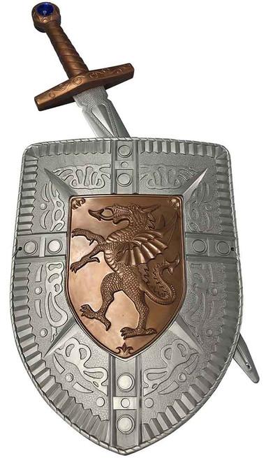 Toy Crusader Shield Sword Set for Kids