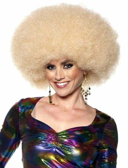 Jumbo Afro Blond Wig