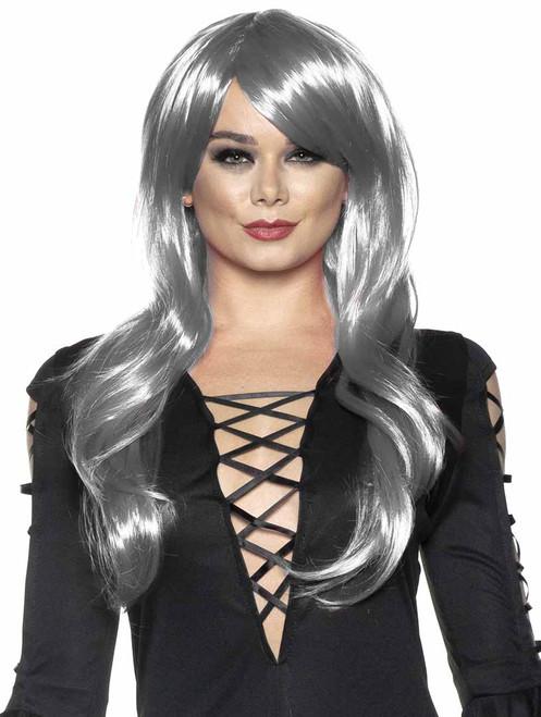 Silver Halloween Wig for Women