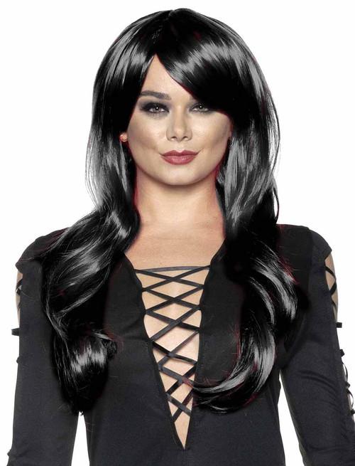 Black Halloween Wig for Women