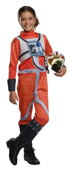 X-Wing Fighter Pilot Kids Costume
