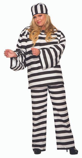 Womens Convict Costume